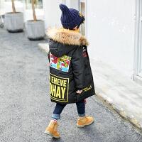 2018新款儿童冬季棉服外套中大童韩版厚款男孩