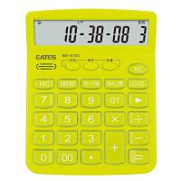EATES/伊达时 语音型电子计算器BS-5700C/绿色 语言发音/时间日期闹钟音乐计算机大小学生中高考试办公用品
