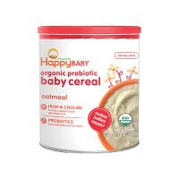 【网易考拉】HAPPY BABY 禧贝 有机燕麦米粉 2段 198克 新老包装随机发货