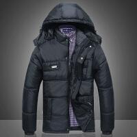 中年男士棉衣男冬装外套中老年人棉袄加厚保暖爸爸装男装