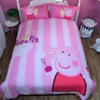 粉红豹床上四件套 卡通儿童棉女孩可爱1.5m被套床单4三件套