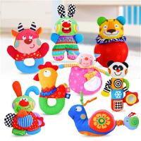 【支持礼品卡】新生儿宝宝玩具婴儿玩具0-1岁安抚布玩手偶摇铃j5j