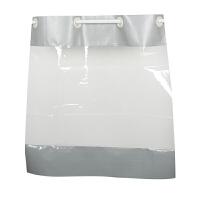 洗车防水门帘汽车美容4店工厂车间防尘挡风透明塑料推拉隔断帘子 厚度1.5mm(加厚款) 4轮全套配件+外加磁铁