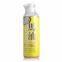 日本北海道LOSHI马油身体乳 天然保湿润肤乳液485ml