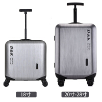 小型登机箱男女拉杆箱18寸飞机行李箱万向轮皮箱20寸密码箱旅行箱
