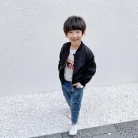 男童外套秋装新款童装儿童棒球服男孩夹克