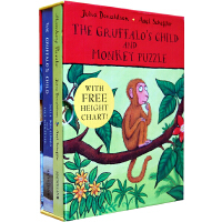 Gruffalo's Child and Monkey Puzzle (boardbook boxset) 《咕噜牛小