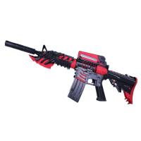 m4a1黑骑士*水晶弹抢连发电动水蛋软弹儿童穿越火线玩具枪 黑骑士电动 +8万