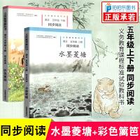 水墨菱塘+彩色篱笆 五年级上下册语文同步阅读人民教育出版社