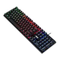 AOC有线键盘鼠标套装电竞游戏机械手感电脑外接静音办公打字专用kb6