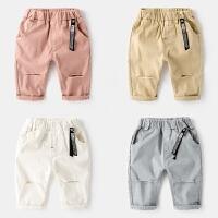 儿童短裤夏装薄款2岁宝宝童装五分裤小童中裤男童裤子沙滩裤夏季