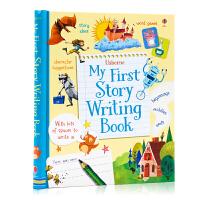 我的第一本故事写作书 My First Story Writing Book 英文原版 儿童英语故事写作启蒙 英文写作