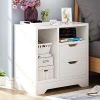 床头柜简约卧室组装储物柜床边迷你小柜子简易床边柜仿实木经济型