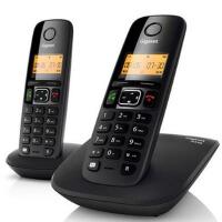 集怡嘉/原 SIEMENS西门子 A530 欧式数字 无绳电话机 无线子母机 双机 电话机 套装