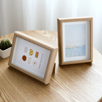 相框摆台创意欧式北欧7寸8寸10寸12寸A4定制大画框定做制挂墙