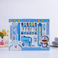 卡通创意水彩笔文具套装 儿童文具礼盒六一节幼儿园礼物奖品