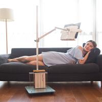 落地式看书架阅读架读书架懒人床上平躺看书神器成人多功能伸缩升降看书支架书立手机平板ipad支架