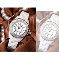 时尚手表气质女表石英表陶瓷表链条潮流防水学生韩版简约休闲大气