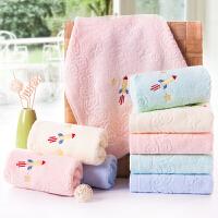 纯棉小毛巾九条装 柔软吸水 全棉童巾 卡通可爱 家用便捷