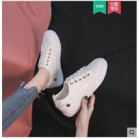 韩版低帮帆布鞋女学生百搭森系原宿ins潮新款学院小白鞋