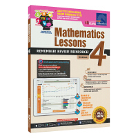 SAP Mathematics Lessons 4新加坡新亚出版社数学课堂练习册四年级套装英文原版进口图书小学教辅10