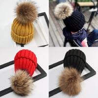 新生儿秋冬季宝宝帽子潮女童1岁儿童毛线帽男婴儿冬季保暖针织帽