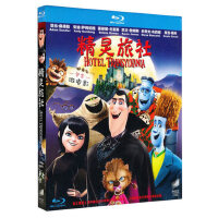 正版蓝光动画电影碟片 精灵旅社 高清蓝光BD50 全区1080P光盘碟片