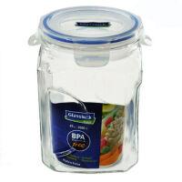 三光云彩GLASSLOCK玻璃保鲜罐 2L 密封罐 玻璃糖罐IP592