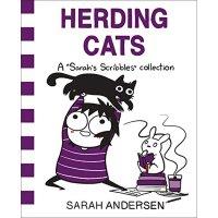 【现货】英文原版 成年如谜3 养猫 人气幽默治愈漫画 Herding Cats: A Sarah's Scribble