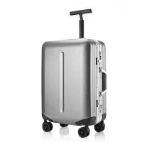20寸登机箱铝框轻便行李箱女22旅行箱万向轮男皮箱24单杆拉杆箱子