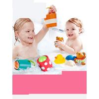 宝宝洗澡玩具 儿童花洒漂浮喷水发条小水鸭子婴儿男女孩戏水k0i