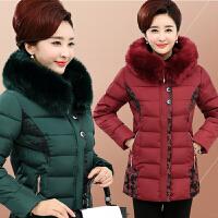 中年女装冬装棉衣40-50-60岁妈妈装中长款羽绒老年人外套棉袄