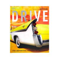 现货包邮 大开本 精装 英文原版 Drive 图解汽车史 带你穿越汽车的历史 DK艺术图解百科全书
