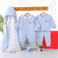 【3件3折后129.24】婴儿衣服新生儿加厚棉衣礼盒套...