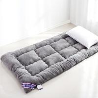 家纺加厚10CM羊羔绒床垫榻榻米睡垫1.5米1.8m学生宿舍床褥