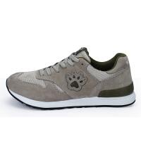 KELME卡尔美 K6012 男式休闲复古运动鞋 透气跑步鞋 轻便耐磨减震慢跑鞋