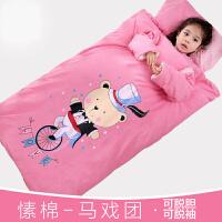 婴儿睡袋秋冬新生儿抱被两用宝宝防踢被0-3-5-12个月春秋睡带冬季gv4
