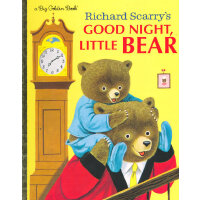Richard Scarry's Good Night, Little Bear (Hardcover, a Big