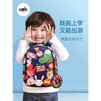 uek幼儿园书包男女孩宝宝1-3-6岁可爱小书包防走失双肩儿童背包