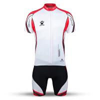 KELME卡尔美 K15Z751B 风行系列短袖骑行服套装 男士透气全开襟自行车套装