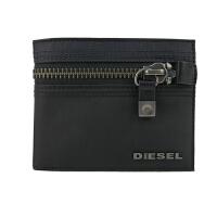 迪赛 DIESEL X01679-PR520-H1554拉链层男款手拿包 黑色