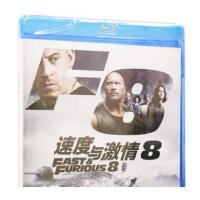 电影dvd速度与激情8蓝光高清双语动作电影光盘光碟片