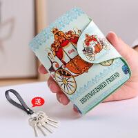名片包小巧风琴卡包女式可爱迷你个性卡片包卡套大容量零钱包