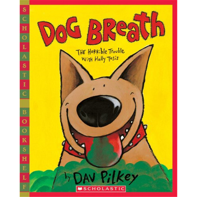 臭臭狗哈利 英文原版 Scholastic Bookshelf:Dog Breath