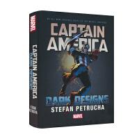 漫威原版长篇小说 新故事线 Marvel Captain America 美国队长 暗黑设计 英雄故事英语小说高阶章节