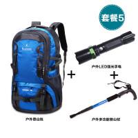 户外防水登山包大容量轻便旅游旅行背包男女双肩包