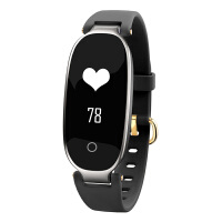 户外防水智能手环运动多功能时尚手表男女手腕通用学生可充电手表潮流