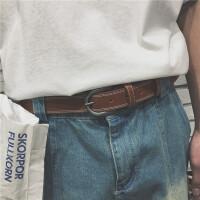 男装 韩版男士皮带时尚配件百搭腰带光板针扣皮带学生潮