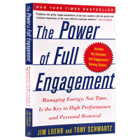 精力管理 英文原版 The Power of Full Engagement Jim Loehr, Tony Schw