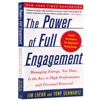 精力管理 英文原版 The Power of Full Engagement Jim Loehr and Tony Sc
